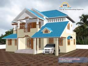 Beautiful Home Elevation Design In 3d  Kerala Home Design