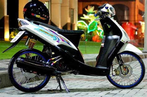 Modifikasi Mio Thailook by Modifikasi Mio Sporty Thailook Modifikasi Motor Kawasaki