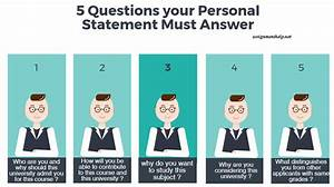 personal statement questions to answer
