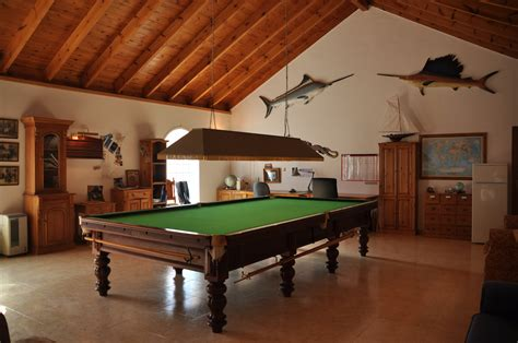 snooker hall traditional spanish farmhouse property