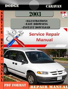 Dodge Caravan 2003 Factory Service Repair Manual Pdf Zip
