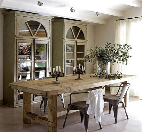 rustic dining table going rustic with farmhouse dining table make it work 6453