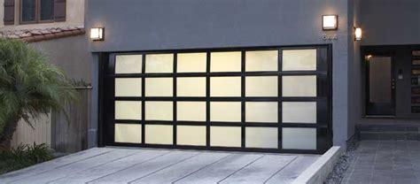 glass garage doors what s the best garage door material monarch