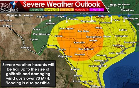 numerous severe storms  tomorrow texas storm chasers