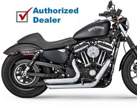 Vance & Hines Chrome Staggered Shortshots Exhaust Pipes 14