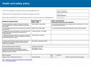 Hse Health And Safety Policy Template Healthy And Safety Executive And Risk Assessment Unit 1 Pre Production Techniques For The