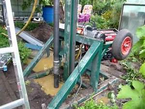 Brunnen Bohren Maschine : einfach brunnen bohren youtube ~ Whattoseeinmadrid.com Haus und Dekorationen
