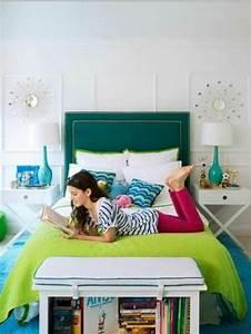 Jugendzimmer Gestalten Farben : farbgestaltung f rs jugendzimmer 100 deko und einrichtungsideen zimmer gr n farben kopfteil ~ Bigdaddyawards.com Haus und Dekorationen