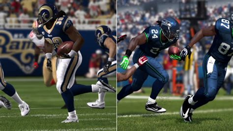 madden  player ratings rams  seahawks