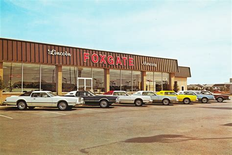 Foxgate Lincoln Mercury, Memphis TN, 1970s   a photo on