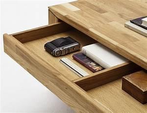 Table Basse Avec Tiroir : table basse chene pas cher le bois chez vous ~ Teatrodelosmanantiales.com Idées de Décoration