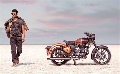 Royal Enfield Classic 350 All Colours Prices - Orange ...