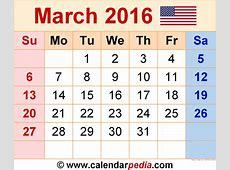 March 2016 Calendar Page – 2017 printable calendar