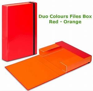 a4 document box folders elastic band storage files With cardboard document box