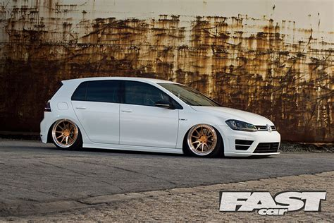 Modified Mk7 Vw Golf R Fast Car