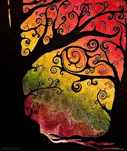 35 Stunning and Beautiful Tree Paintings for your inspiration