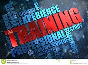 Training  Wordcloud Concept  Stock Images