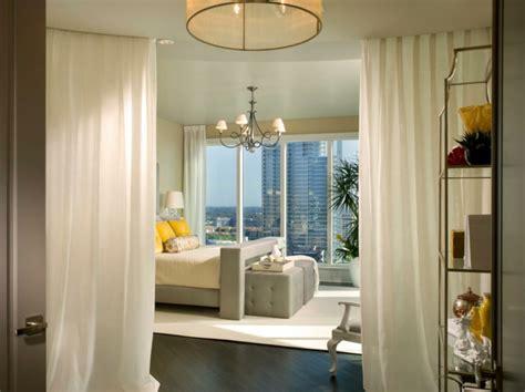 comment faire une separation dans une chambre la séparation de pièce amovible optez pour un rideau