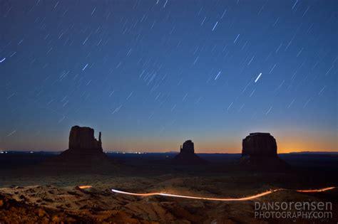 monument valley star trails  night  sorensen