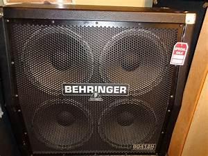 Used Behringer Ultrastack Bg412h 4x12 U0026quot  Guitar Speaker