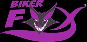 Purple Fox Logo Wallpaper