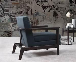 Kleine Sessel Design : design sessel mit holzrahmen gepolstert idfdesign ~ Markanthonyermac.com Haus und Dekorationen
