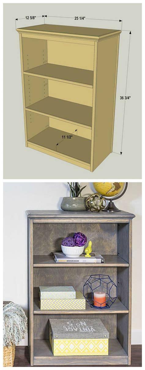 diy compact bookcase  plans  buildsomethingcom