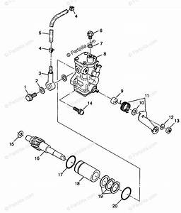 Polaris Atv 1998 Oem Parts Diagram For Oil Pump Xplorer