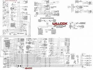 1977 Corvette Radio Wiring Diagram  1977 Corvette Tracer