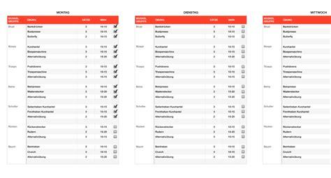 numbers vorlage trainingsplan fitness ganzkoerpertraining