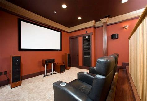 choose   color   media room