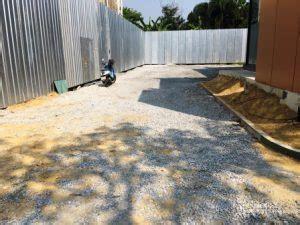 ผลงาน ทำลานจอดรถ ถมด้วยหินเกล็ด ซอยรัชดา32 - รับเหมาถมดิน ...