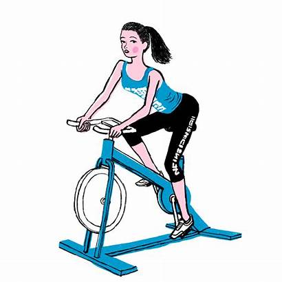 Exercise Spinning Fitness Cycle Spin Studio Spinners