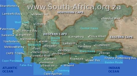 South Africa travel information accommodation guide ...