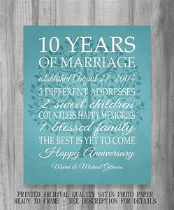 1000 ideas about 10 year anniversary gift on pinterest With 10 year wedding anniversary gift ideas
