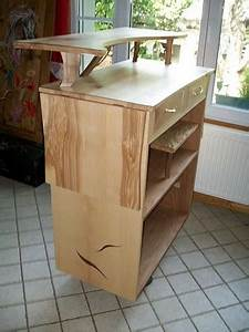 Meuble Mange Debout : atelier picaud fabrication ~ Teatrodelosmanantiales.com Idées de Décoration