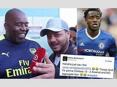 Chelsea man Michy Batshuayi tweets Arsenal Fan TV's Troopz