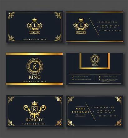 Card Business Elegant Luxury Royal Templates Decor