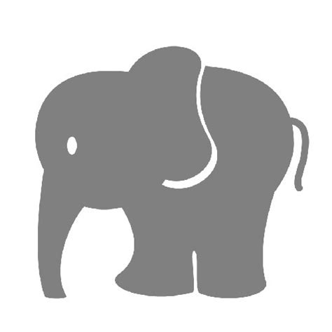 custom printed baby shower peek  boo candy tin elephant