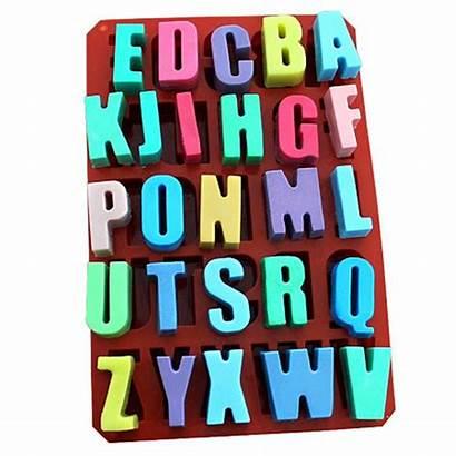 Letters Random English 26 Alphabets Alphabet Mold