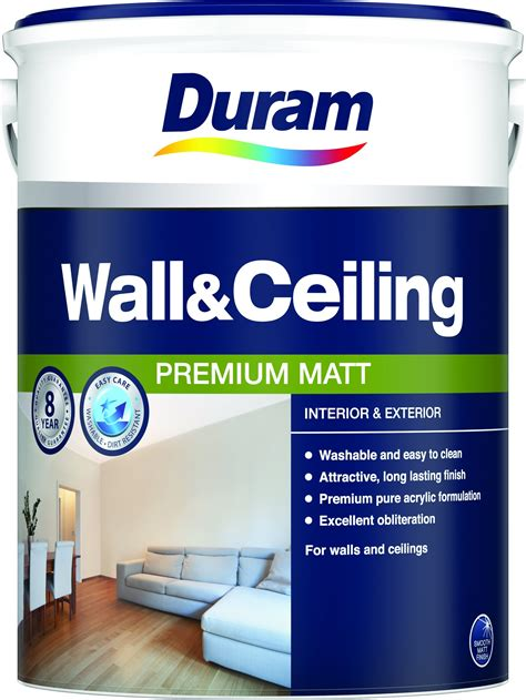 duram wall ceiling acrylic paint pva cashbuild