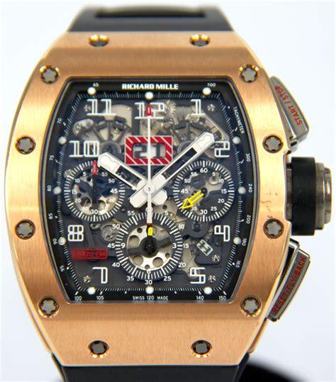 richard mille rm rose gold flyback chronograph felipe