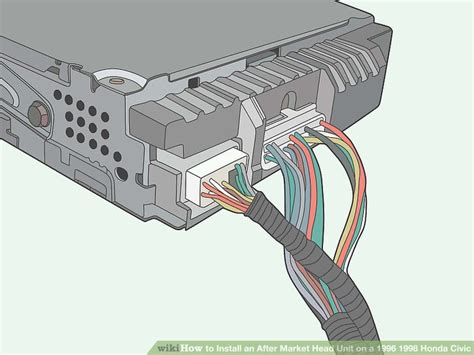 1996 Honda Civic Stereo Wiring Harnes by How To Install An After Market Unit On A 1996 1998