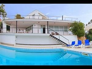costa brava villa moderne avec piscine prive youtube With villa costa brava location avec piscine