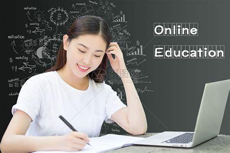 在线学习的大学生图片素材-正版创意图片500717510-摄图网