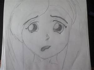 Sad girl face drawing sad girl drawing | Chainimage