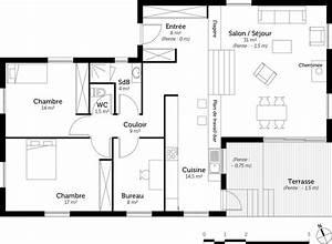 plan maison demi etage avie home With plan maison demi niveau 0 maison en demi niveaux detail du plan de maison en demi