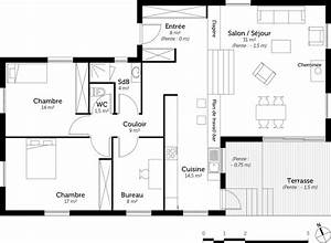 plan maison a demi niveau ooreka With plan maison demi niveau 7 plan maison 4 chambres maison moderne
