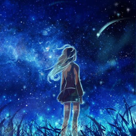 falling star  pronastya  deviantart