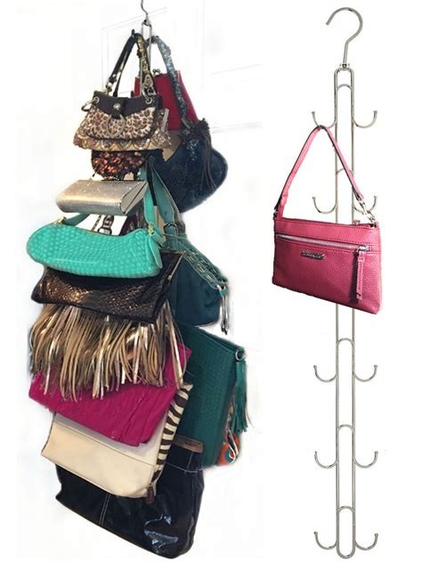Hanging Purses In Closet by Best 25 Hanging Purses Ideas On Diy Organize